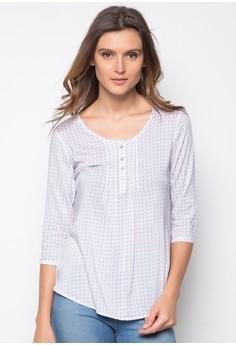 Ladies Slim Fit Printed Shirt
