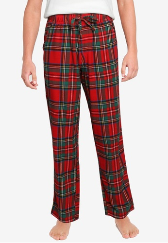 Old Navy red Matching Plaid Flannel Pajama Pants 2F8B8AAA073F40GS_1