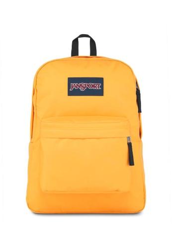 JanSport yellow Jansport Superbreak Spectra Yellow Backpack - 25L 2DC99AC50A2EBFGS_1