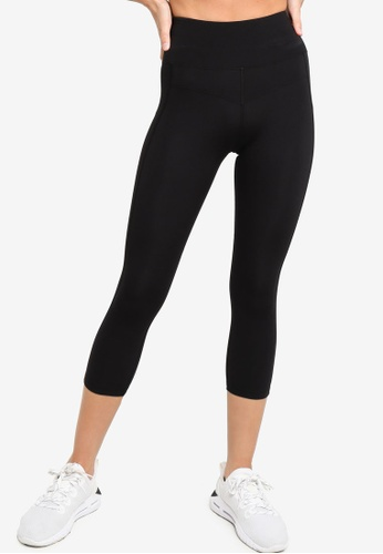 Lorna Jane black New Booty Support 7/8 Tights E47BCAA716558DGS_1