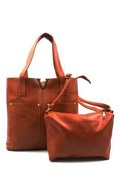 Veron Leather Shoulder Bag