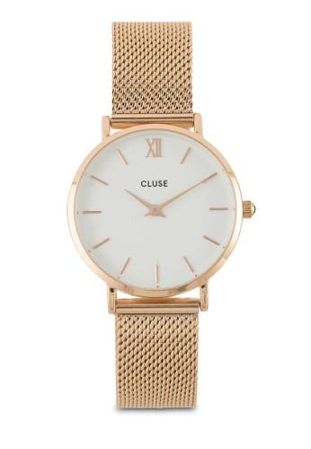 Minuit 不銹鋼網狀圓錶, 錶類, esprit 旺角不銹鋼錶帶