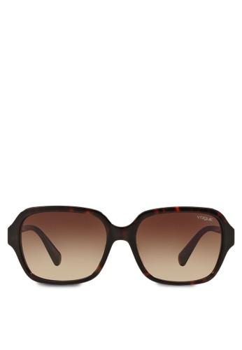 豹紋方esprit outlet hong kong框太陽眼鏡, 飾品配件, 飾品配件