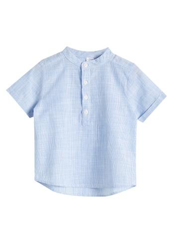 LC Waikiki blue Baby Boy?s Shirt 357EDKA30B1C7FGS_1