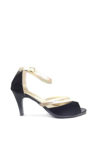 Beauty Shoes black Beauty Shoes 1395 Heels Black 225DDSH8BB36F3GS_1