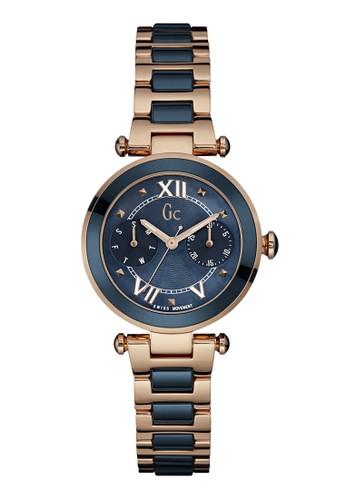 GC Watch gold GC Guess Collection Jam Tangan Wanita - Dark Blue Rosegold -  Stainless Steel 689911e665