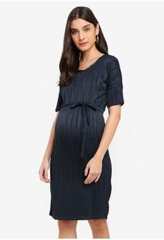 11aa8a3e2cdc Mama.licious green Maternity Alessa 2/4 Jersey Dress 919A5AABD961A8GS_1