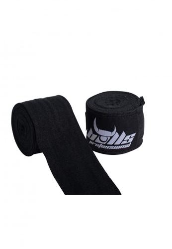 Bulls Professional black Bulls Professional Hand Wraps - Mex Style (Black) 3D412SE225D9EBGS_1