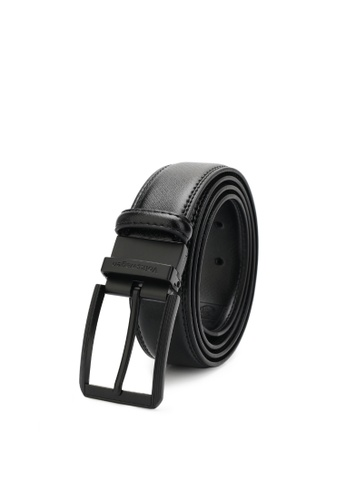 Volkswagen black Men's Belt - 35mm Reversible Belt 9A33EAC15CE8BBGS_1
