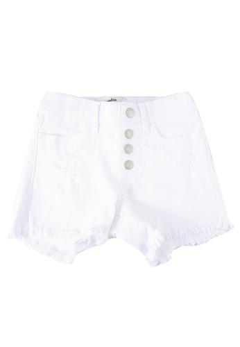 Abercrombie & Fitch white Mini Mom Shorts 3B14CKA5DE3206GS_1