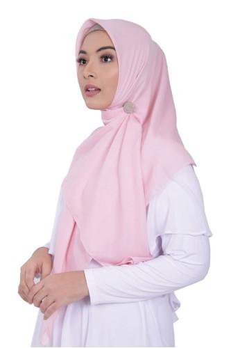elzatta pink Scarf Keiva Vabira 52470AA8AC529BGS_1