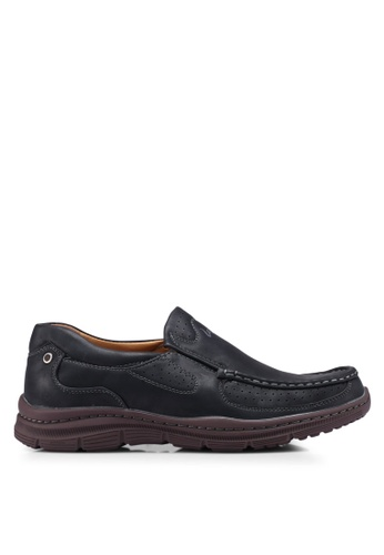 Louis Cuppers black Slip On Loafer AC692SH8ECB298GS_1