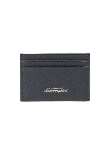Lamborghini blue Automobili Lamborghini® Script Blue Wallet 6BE2CACB301ACAGS_1