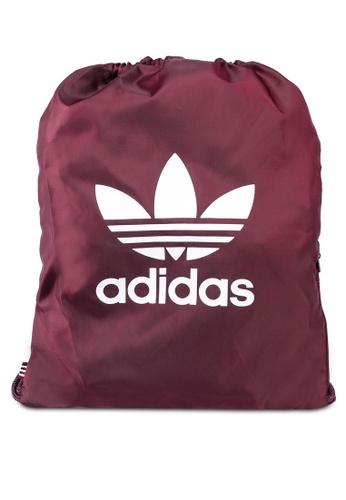 adidas red adidas originals gymsack trefoil EC876ACEBA7CB1GS_1