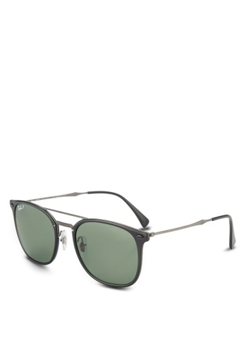 Ray-Ban black RB4286 Polarized Sunglasses RA896GL69GSKMY_1