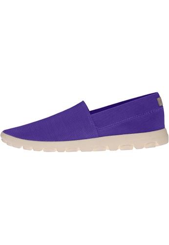 paperplanes purple SNRD-706 Women Fashion Ultralight Slip-Ons Driving Shoes PA110SH47PAAHK_1