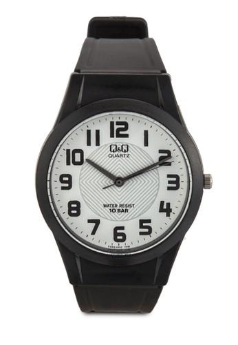 VQ50J002Y 圓框數esprit地址字手錶, 錶類, 飾品配件