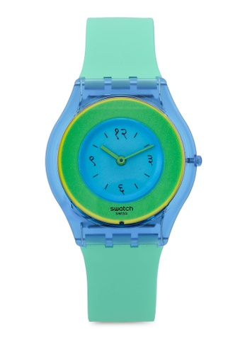 Swatch blue Hara Green 01 Watch BD325ACE3E3ABBGS_1