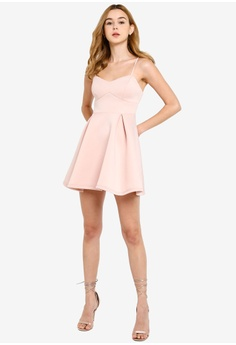 e94174f3a911 Miss Selfridge Petite Scuba A-line Dress S$ 113.00. Sizes 6 8 10 12 14