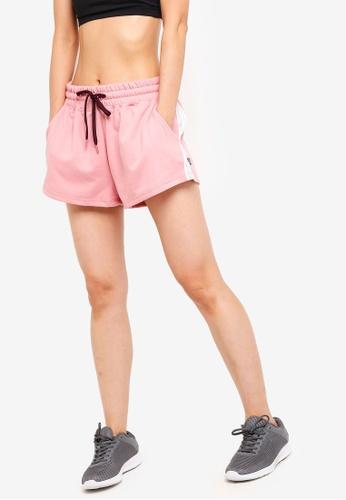 Cotton On Body red Side Stripe Fleece Shorts D01D5AA4A53B84GS_1