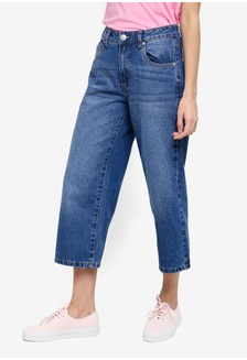 f098d4059188 Mid Rise Wide Leg Crop Jeans 23236AAE722C8CGS 1