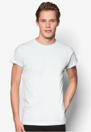 印花捲袖T 恤esprit outlet 香港, 服飾, 服飾