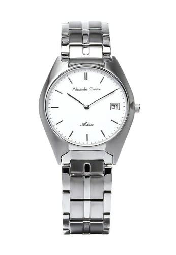 Alexandre Christie silver Alexandre Christie Jam Tangan Wanita - Silver White - Stainless Steel - 8521 LDBSSSL B8CC6ACC0621E4GS_1