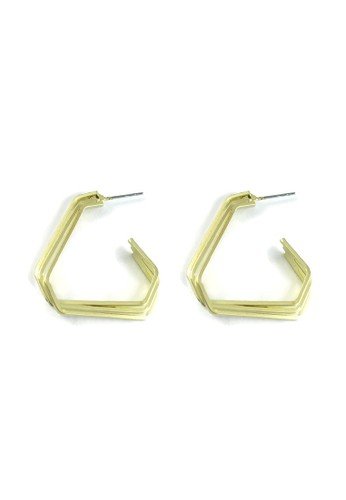La Miina gold West Gold Earrings 7B0A3AC1AF640BGS_1