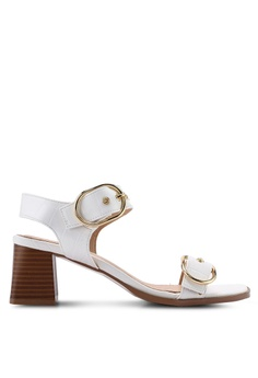 2517415055eb TOPSHOP white Dolly Buckle Sandals 44D4ASH96490DEGS_1