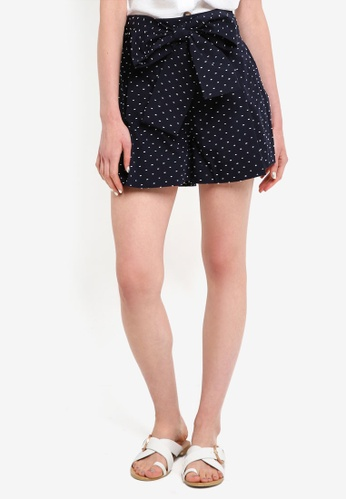 J.Crew white and navy Black Lake Shorts 71FE8AAC4F6910GS_1