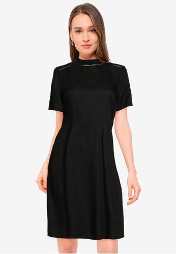 Vero Moda black Ibi Short Dress 947D2AAF797344GS_1