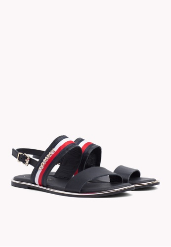 a569d34b0195 Buy Tommy Hilfiger FLAT SANDAL CORPORATE RIBBON Online on ZALORA Singapore