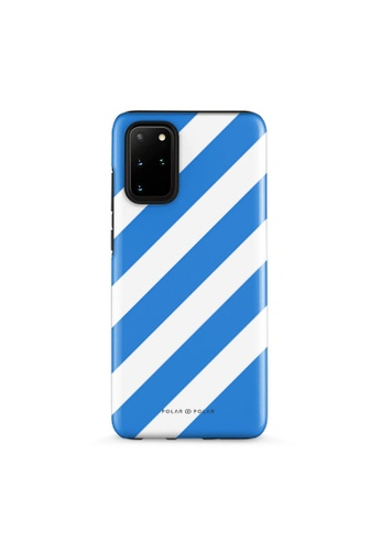Polar Polar blue Blue Slash Dual-Layer Tough Case Glossy For Samsung S20 Plus 65501ACBBA5D5EGS_1