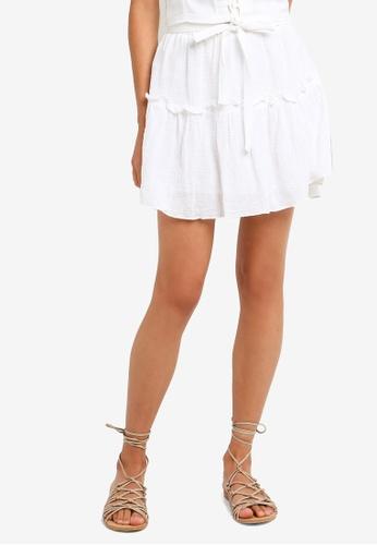 d3357dee Buy Cotton On Woven Tyra Textured Mini Skirt Online on ZALORA Singapore