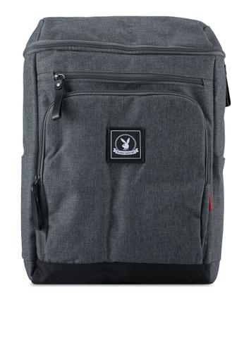 Playboy grey Playboy Backpack PL371AC0SJZJMY_1
