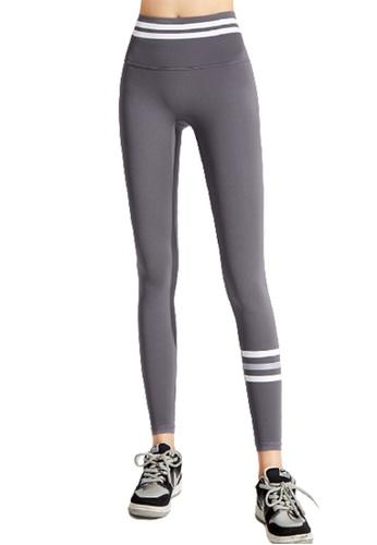 Trendyshop grey High-Elastic Fitness Leggings 59CBDUS332FD5CGS_1