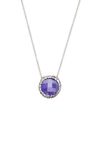 Fervor Montreal purple Fervor Montreal-Druzy Necklace Round E3F33AC8E67F41GS_1