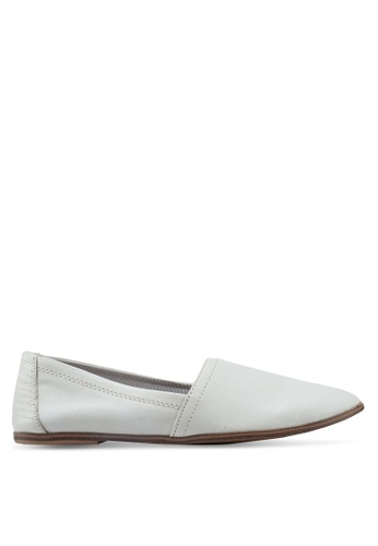 b03834082c1 ALDO white Jerolia Slip On Loafers CD003SH15E4166GS 1