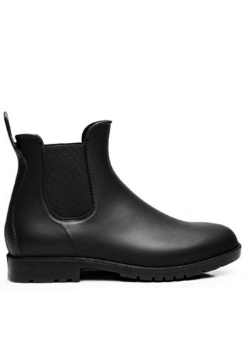 Twenty Eight Shoes black Men's Riding Rain Boots MC102 46EEBSH43D5ABAGS_1