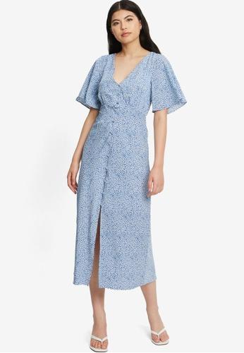 Tussah blue Julie Midi Dress AEF18AAFC6BF67GS_1
