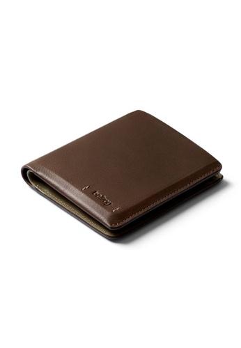 Bellroy brown Bellroy Note Sleeve Wallet (Premium Edition) - Darkwood ED662ACE824504GS_1