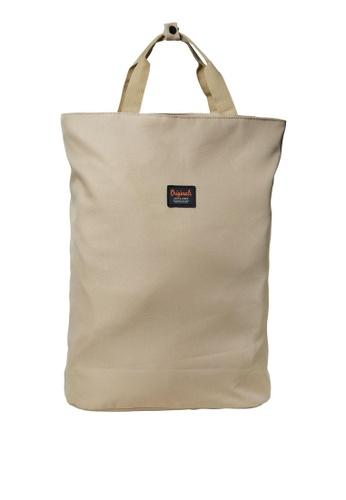 Jack & Jones beige Todd Backpack 7F588ACBE0EE85GS_1