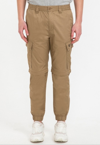 Bossini brown Detachable Cargo Pants 629ADAA15F06CEGS_1