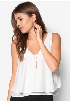 Chained Detail Swing Top