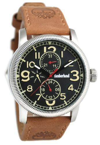 Timberland Jam Tangan Pria Coklat Leather Strap TBL14812JS-02