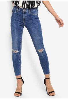 dd25203141b45 River Island blue Molly Serena Double Rip Jeans 774C8AAC74A25DGS 1