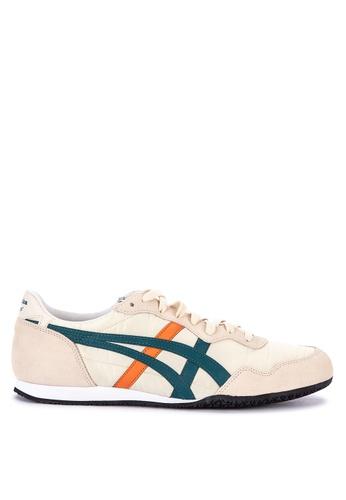 Onitsuka Tiger beige Serrano Sneakers E16B8SH8ABB463GS_1