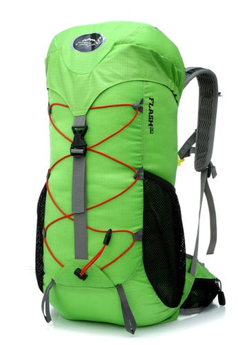 Local Lion green Local Lion Water Resistant Hiking Traveling Backpack  Sapphire Green 35L LO780AC80FSHMY 1 506b21cd28
