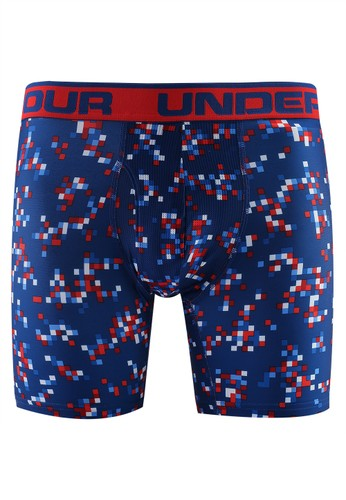 Under Armour blue and multi O Series 6In Novelty Bottoms 10B45AAB451CC9GS_1