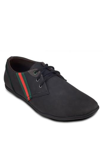 條紋邊飾時尚運動鞋, 鞋, 休閒esprit台灣outlet鞋